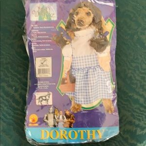 Dorothy Pet Costume. Size L